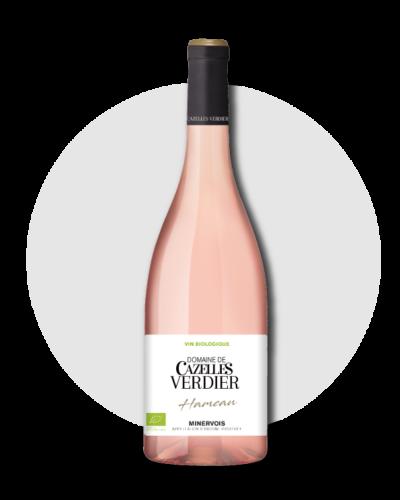 vin-rose-minervois-domaine-cazelles-verdier-hameau-2019